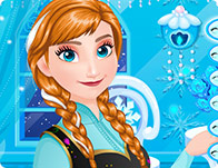 Anna Frosty Make-up