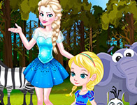 Baby Elsa Forest Trip