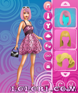 Barbie Fashion Dress Up game