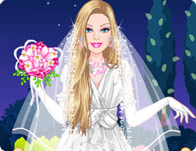 Barbie Vintage Bride Dress Up