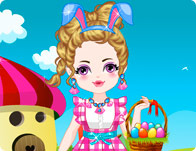 Cute Baby Easter Day Dress Up