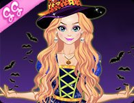 Cute Witch Dress Up