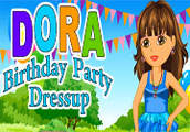 Dora birthday Dress Up