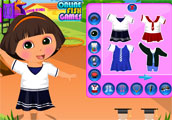 Dora Goes to School Dress Up