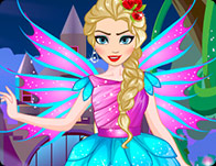Elsa Fairy Dress Up