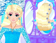 Elsa Royal Hairstyles