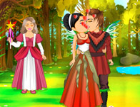 Forest Fairy Kissing
