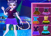 Monster High Catrine Demew Dress Up