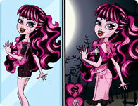 Monster High Draculaura Dress Up Challenge