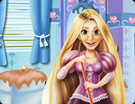 Rapunzel Bathroom Clean-Up