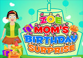Zoe Moms Birthday Surprise