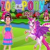 Zoe with Pony Dress Up