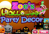 Zoes Halloween Party Decor